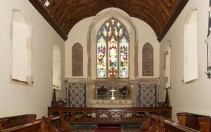 The Chancel inside Nevern Church, St Brynach, Nevern, Pembrokeshire