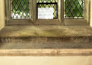 Maglocunus Stone at Nevern Church, St Brynach, Nevern, Pembrokeshire