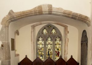 The Bowen Chapel inside of St Brynach's Church, Nevern, Pembrokeshire